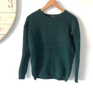 Aritzia | Babaton Cable Knit Merino Wool Sweater